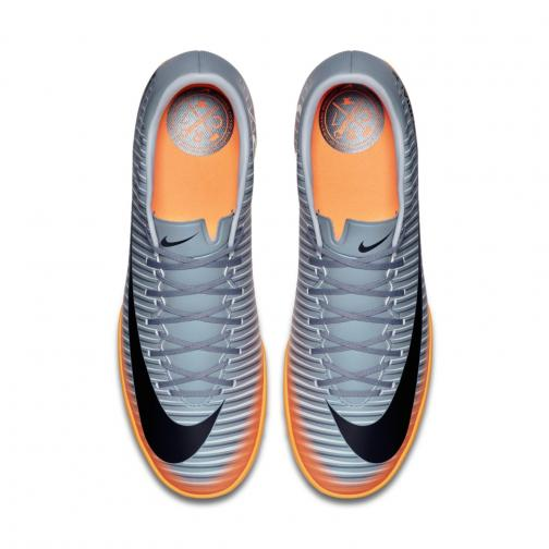 Nike Futsal Shoes Mercurial Victory Vi Cr7 Tf   Cristiano Ronaldo COOL GREY/MTLC HEMATITE-WOLF GREY Tifoshop