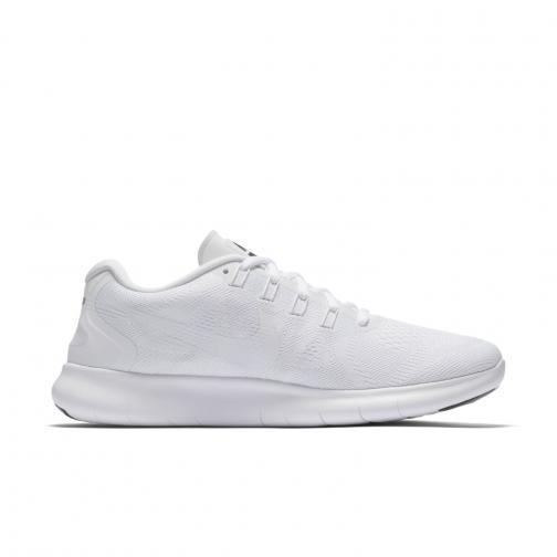 Nike Chaussures Free Rn 2017 WHITE/WHITE-BLACK-PURE PLATINUM Tifoshop
