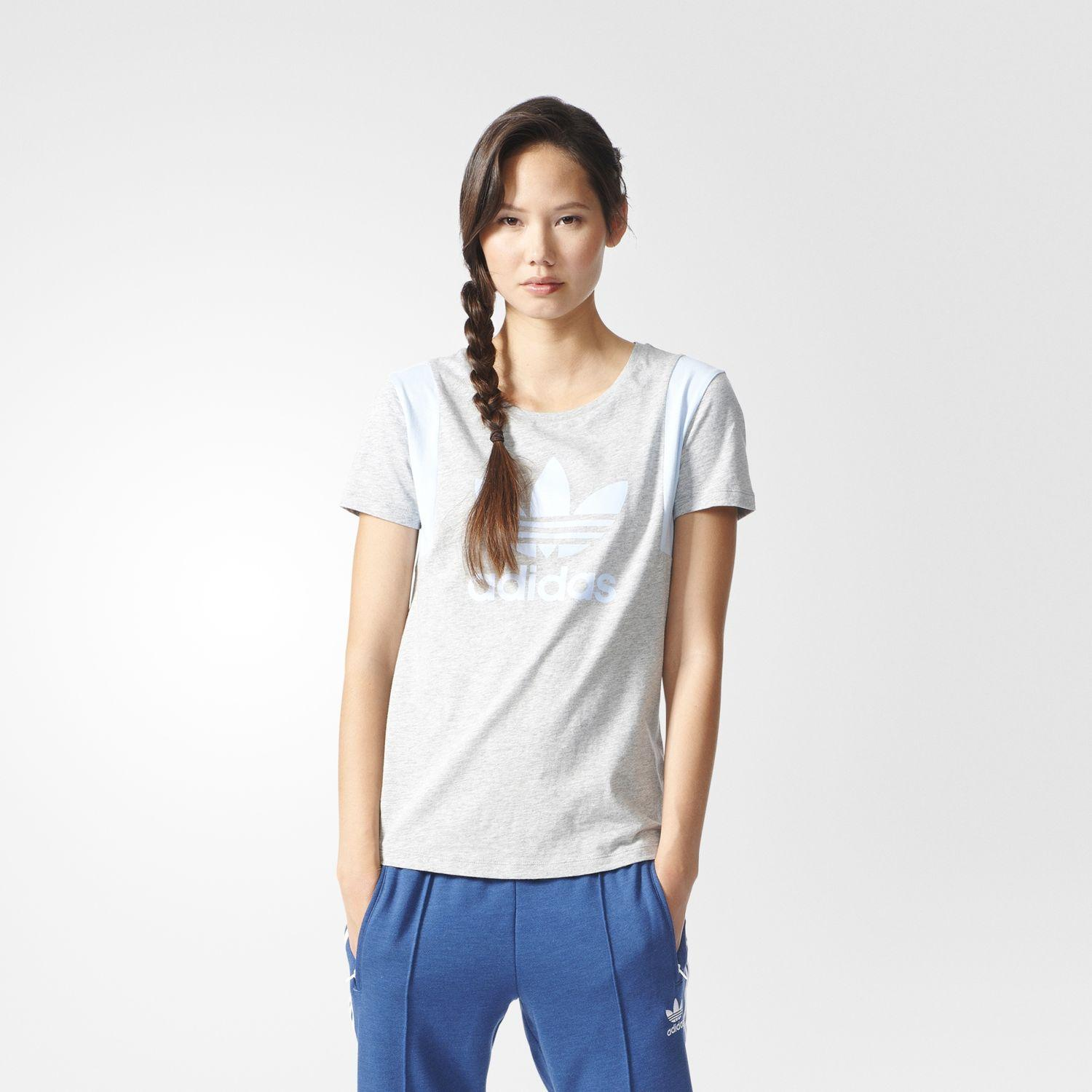Adidas Originals T-shirt Trefoil Tee  Donna