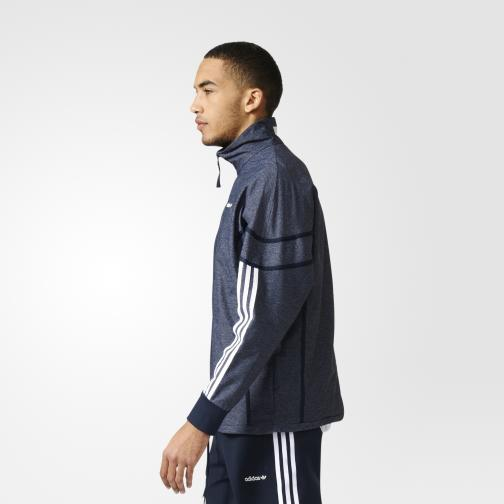 Adidas Originals Sweatshirt Tko Clr84 Woven Tracktop legend ink s10/white Tifoshop