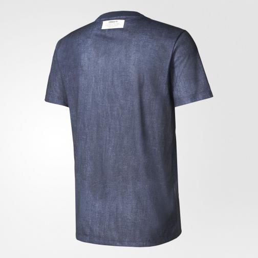 Adidas Originals T-shirt Tko Clr84 Indigo legend ink Tifoshop