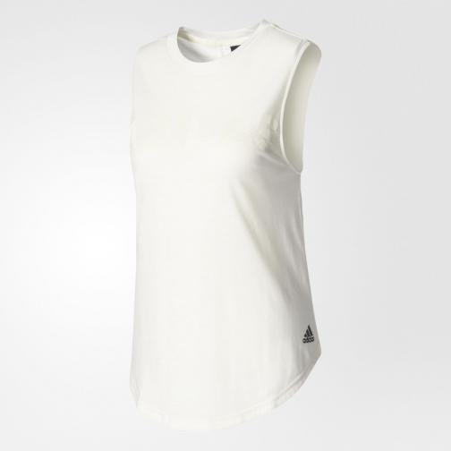 Adidas Canotta Away Day  Donna BIANCO