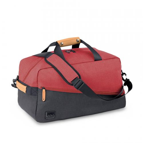 DUFFLE  RED