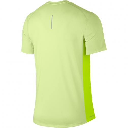 Nike T-shirt Breathe BARELY VOLT/HTR/VOLT Tifoshop