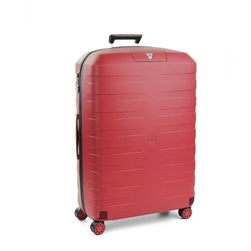 LARGE LUGGAGE  BLACK/RED