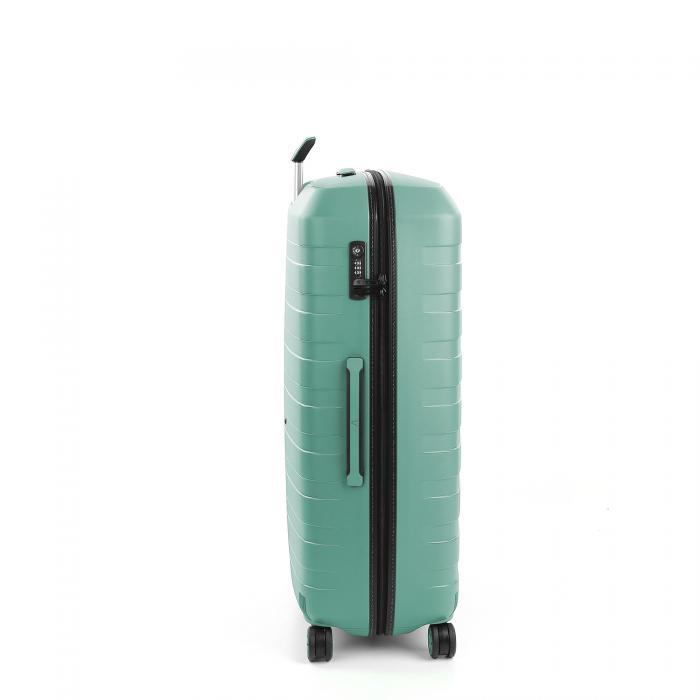 Large Luggage  BLACK/EMERALD Roncato