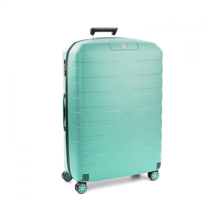 Large Luggage  BLACK/EMERALD