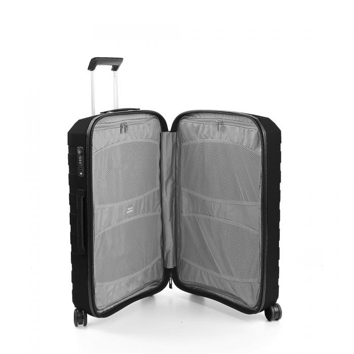 Trolley Moyenne Taille  BLACK/BLACK Roncato