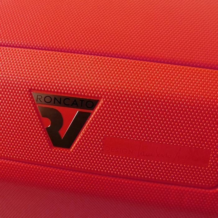 Medium Luggage  BLACK/RED Roncato