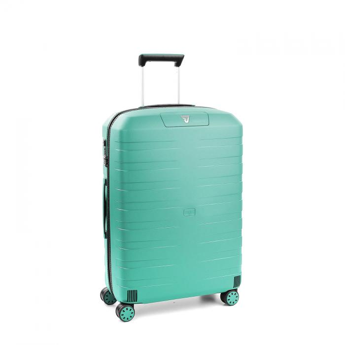 Medium Luggage  BLACK/EMERALD