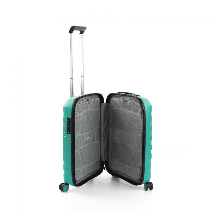 Trolley Cabine Xs  BLACK/EMERALD Roncato