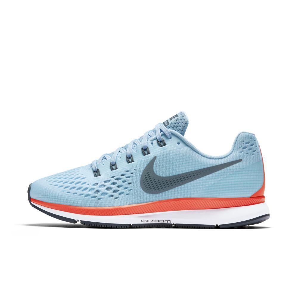 the best attitude 27840 2596a Nike Shoes Air Zoom Pegasus 34 Ice Blue blue Fox-bright Crimson-white -  Tifoshop.com