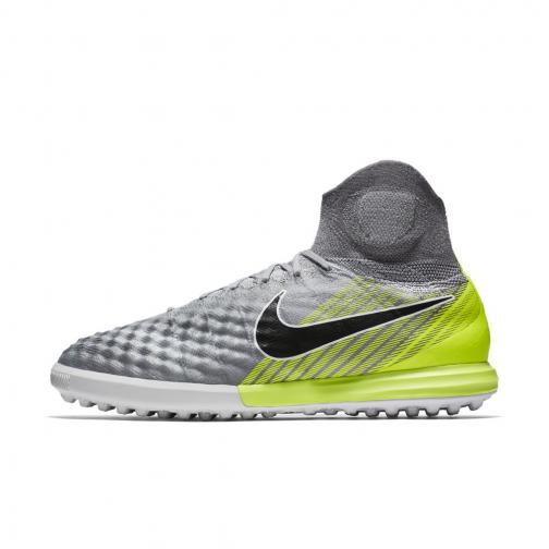 Nike Futsal-schuhe Magistax Proximo Ii Tf WOLF GREY/BLACK-COOL GREY-PURE PLATINUM