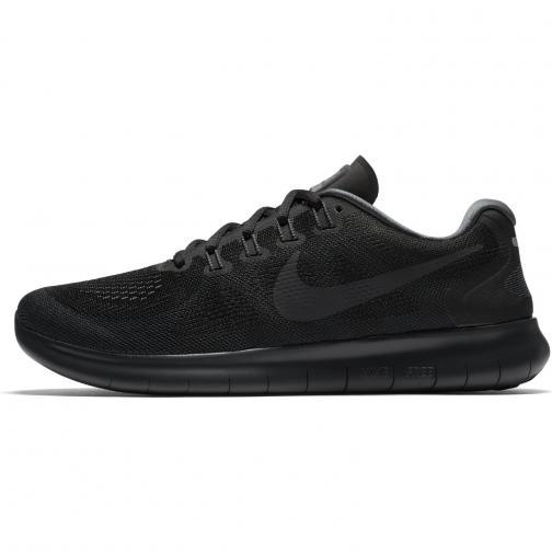 Nike Schuhe Free Rn 2017 BLACK/ANTHRACITE-DARK GREY-COOL GREY
