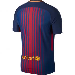 Nike Authentique Maillot Home Barcelona   17/18