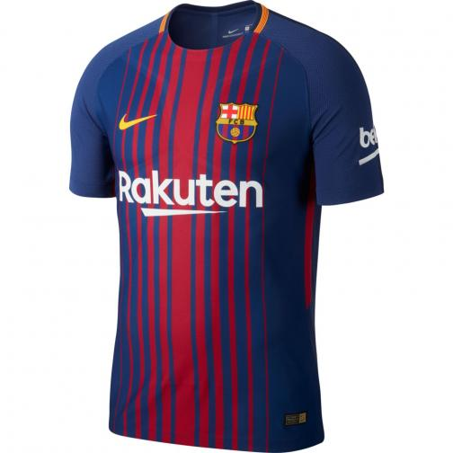Nike Authentic Jersey Home Barcelona   17/18 DEEP ROYAL BLUE/UNIVERSITY GOLD