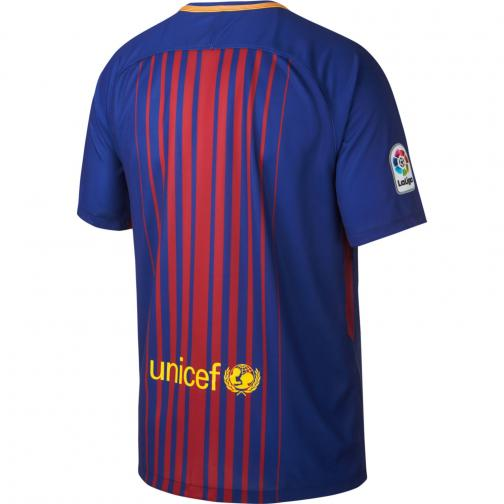 Nike Jersey Home Barcelona   17/18 DEEP ROYAL BLUE/UNIVERSITY GOLD Tifoshop