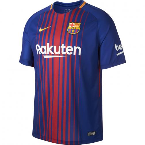 Nike Jersey Home Barcelona   17/18 DEEP ROYAL BLUE/UNIVERSITY GOLD
