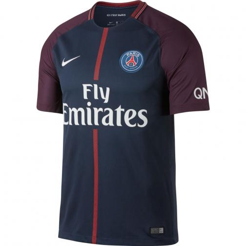 Nike Maglia Gara Home Paris Saint Germain   17/18 Blu