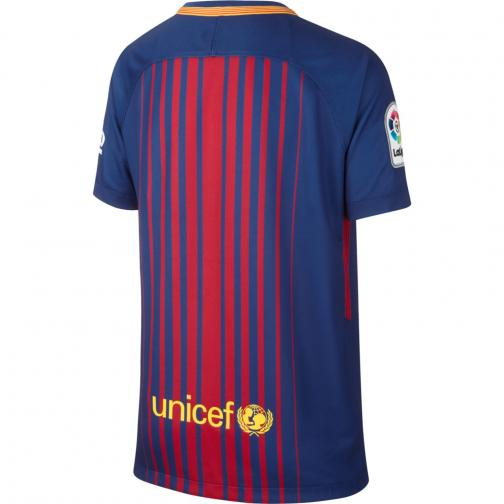 Nike Jersey Home Barcelona Junior  17/18 DEEP ROYAL BLUE/UNIVERSITY GOLD Tifoshop