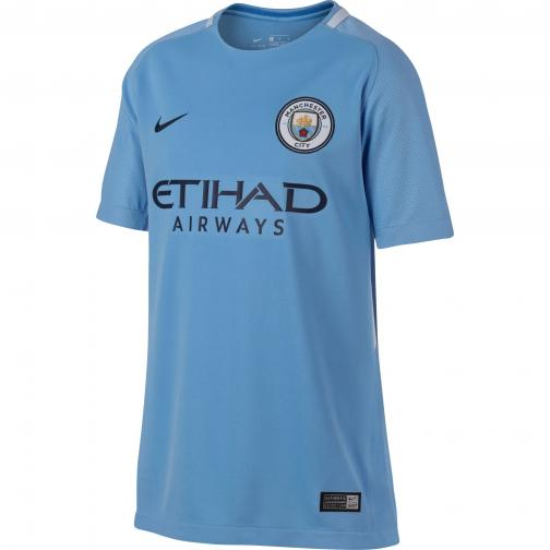 Nike Shirt Home Manchester City Juniormode  17/18 FIELD BLUE/MIDNIGHT NAVY/MIDNIGHT NAVY