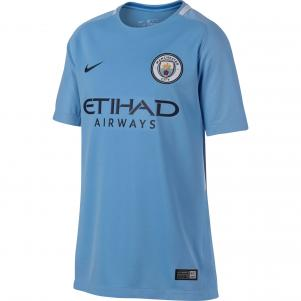 Nike Maglia Gara Home Manchester City Junior  17/18