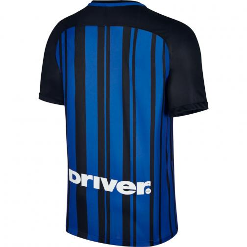 Nike Maglia Gara Home Inter   17/18 Nero Blu Tifoshop