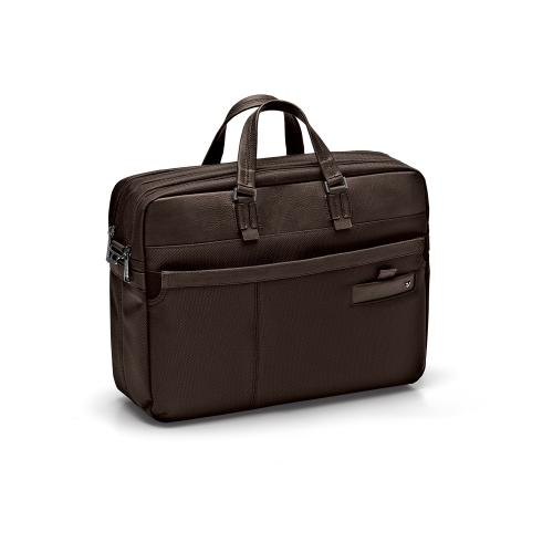 BOLSA PORTA COMPUTADOR  DARK BROWN