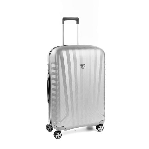 MEDIUM LUGGAGE  GREY/SILVER