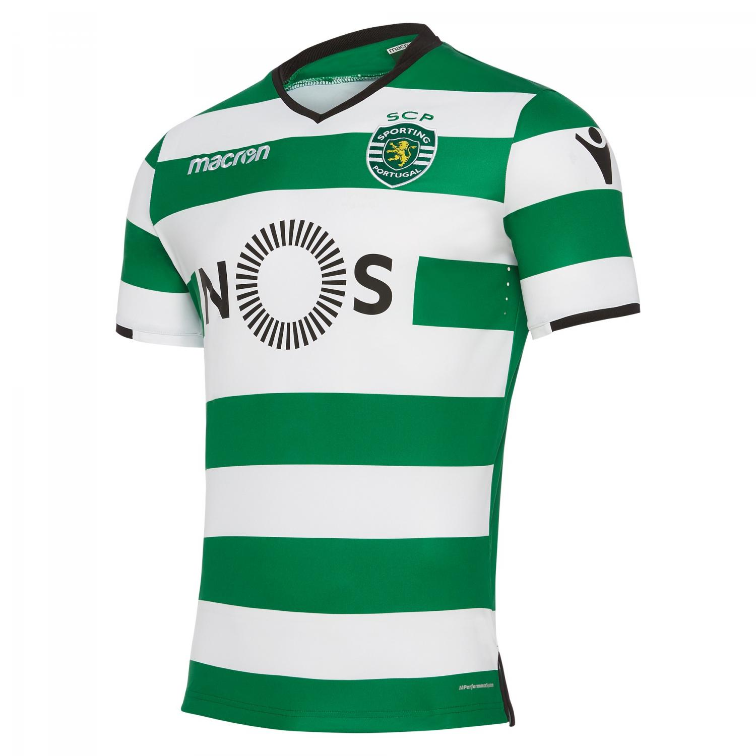 Macron Shirt Home Sporting Lisbona   17/18