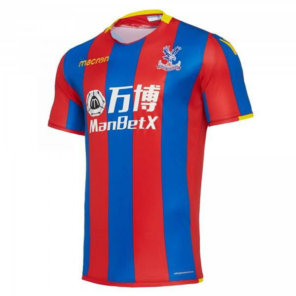 Macron Maillot De Match Home Crystal Palace Fc   17/18 Red/Blue