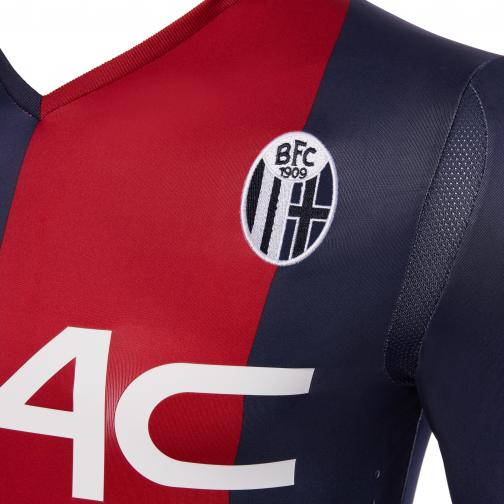 Macron Jersey Home Bologna   17/18 Red/Blue Tifoshop