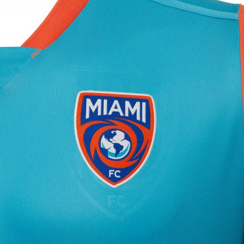 Macron Shirt Home Miami Mls   17/18 Light blue Tifoshop