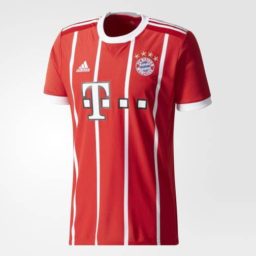Adidas Maillot De Match Home Bayern Monaco   17/18 White/Red