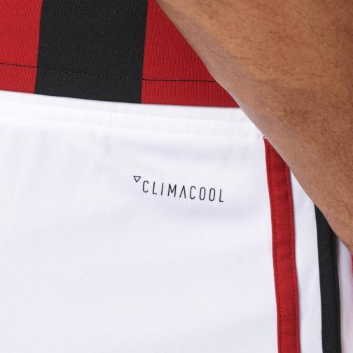 Adidas Pantaloncini Gara Home Milan   17/18 Bianco Tifoshop