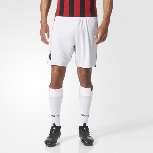 Adidas Pantaloncini Gara Home Milan   17/18 Bianco