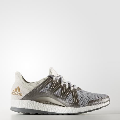 Adidas Shoes Pureboost Xpose  Woman GREY ONE F17/GREY THREE F17/TACTILE GOLD MET. F17