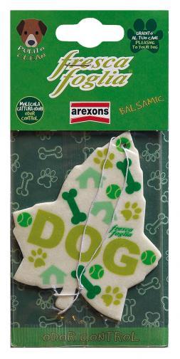 Fresca foglia dog balsamic: profumatore auto