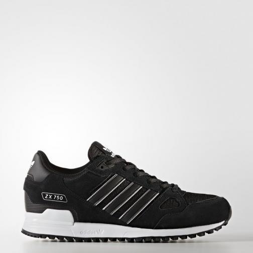 Adidas Originals Schuhe Zx 750 CORE BLACK/CORE BLACK/FTWR WHITE