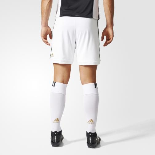 Adidas Spielerhose Home Juventus   17/18 White/Black Tifoshop
