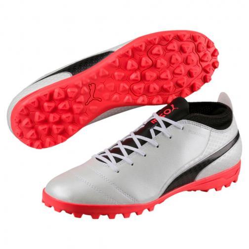 Scarpe Puma One 17.3 Tt Puma Bianco/Nero/Corallo FIGC Store