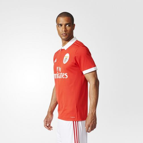 Adidas Shirt Home Benfica   17/18 Red/White Tifoshop
