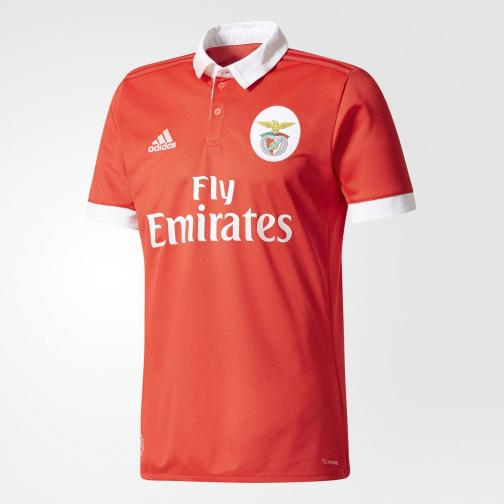 Adidas Jersey Home Benfica   17/18 Red/White
