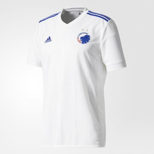 Adidas Shirt Home Fc Copenhagen   17/18 White/Blue