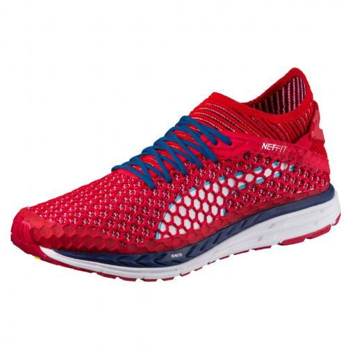 Puma Shoes Speed Ignite Netfit TOREADOR-BLUE DEPTHS-PUMA WHITE