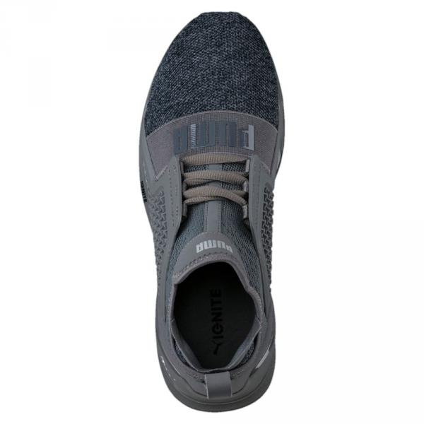 Puma Chaussures Ignite Limitless Knit QUIET SHADE-PUMA SILVER Tifoshop