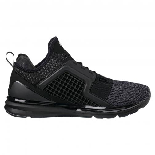Puma Chaussures Ignite Limitless Knit PUMA BLACK-PUMA SILVER Tifoshop