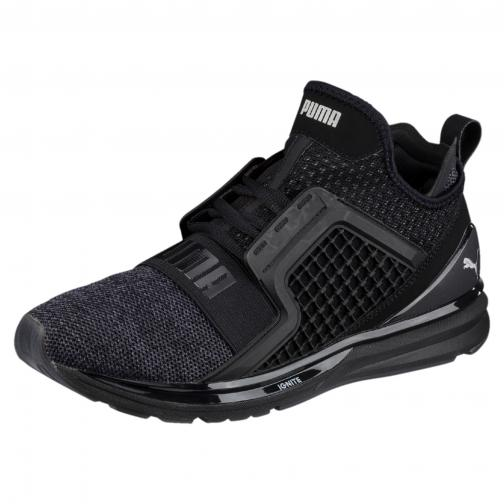 Puma Chaussures Ignite Limitless Knit PUMA BLACK-PUMA SILVER