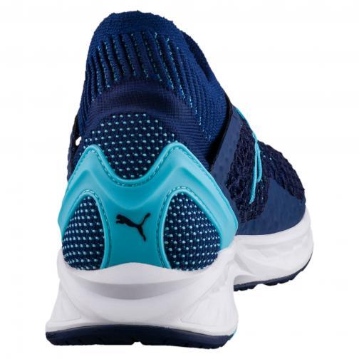 Puma Shoes Women Ignite Netfit  Woman BLUE DEPTHS-NRGY TURQUOISE Tifoshop