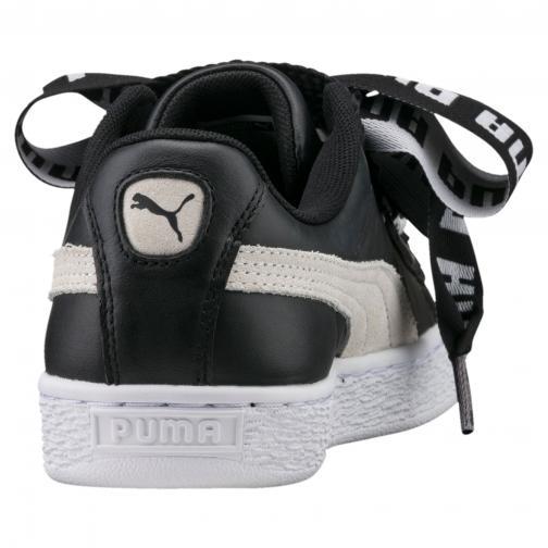 Puma Scarpe Basket Heart De  Donna Nero/Bianco Tifoshop